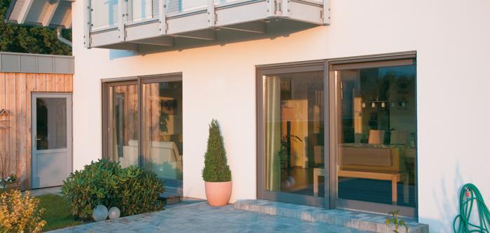 Holz Alu Schiebeturen Fensterfabrik Neuffer